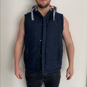 Original weatherproof vintage hooded vest